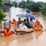 Наводнение в Китае: около 2 миллионов человек стали вынужденными переселенцами в провинции Шаньси