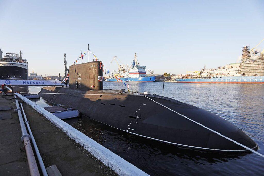 Новая подводная лодка «Магадан» — самое бесшумное военное судно в мире